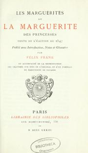 Cover of: Les Marguerites de la Marguerite des princesses