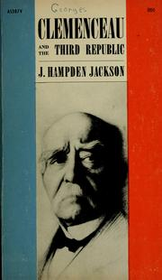 Cover of: Clemenceau and the Third republic