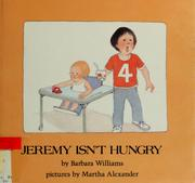 Cover of: Jeremy isn't hungry