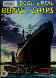 Cover of: The big book of real boats and ships