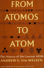 Cover of: From atomos to atom