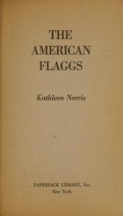 "Cover of: The Flagg Family. [Another edition of ""The American Flaggs."" ]."
