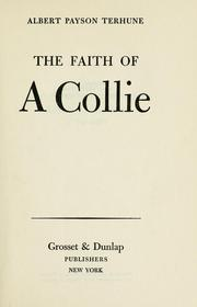 Cover of: The faith of a collie