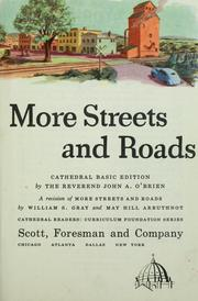 Cover of: More streets and roads