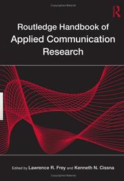 Cover of: Routledge Handbook of Applied Communication Research