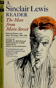 Cover of: The man from Main Street
