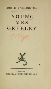 Cover of: Young Mrs. Greeley