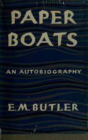 Cover of: Paper boats