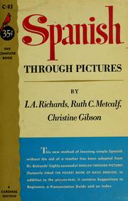 Cover of: Spanish through pictures