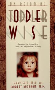 Cover of: On becoming toddler wise