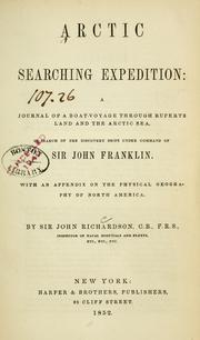 Cover of: Arctic searching expedition