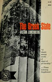 Cover of: The Greek state