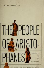 Cover of: The people of Aristophanes