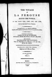 Cover of: The  voyage of La Pérouse round the world, in the years 1785, 1786, 1787, and 1788, with the nautical tables