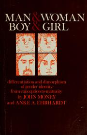 Cover of: Man & woman, boy & girl