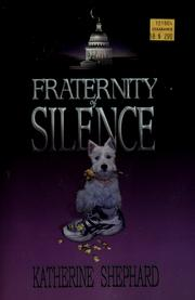 Cover of: Fraternity of silence