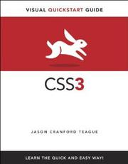 Cover of: Visual Quickstart Guide: CSS 3