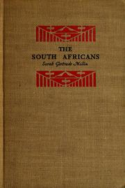 Cover of: The South Africans