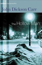 Cover of: The hollow man