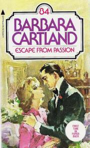 Cover of: Escape from passion