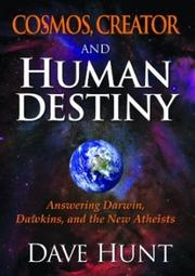 Cover of: Cosmos, Creator and Human Destiny