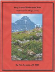 Cover of: Holy Cross Wilderness Area: The Northern Trails of Eagle County