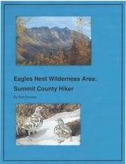 Cover of: Eagles Nest Wilderness Area: Summit County Hiker