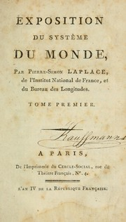 Cover of: Exposition du systême du monde