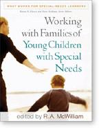 Cover of: Working with families of young children with special needs