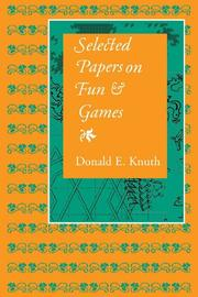 Cover of: Selected papers on fun and games