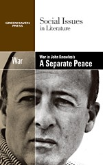 Cover of: War in John Knowles's A separate peace