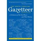 Cover of: The North Carolina gazetteer
