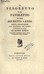 Cover of: Il tesoretto e il favoletto