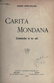 Cover of: Carita Mondana