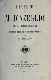 Cover of: Lettere al fratello Roberto
