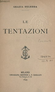 Cover of: Le Tentazioni