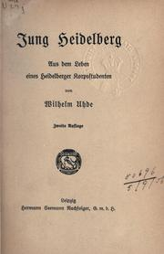 Cover of: Jung Heidelberg