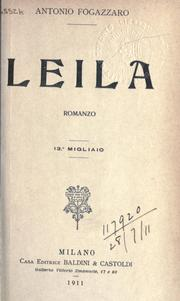 Cover of: Leila