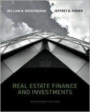 Cover of: Real estate finance and investments