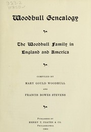 Cover of: Woodhull genealogy