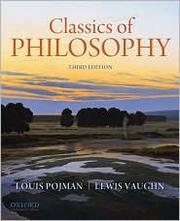 Cover of: Classics of philosophy