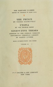 Cover of: Il Principe