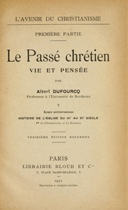 Cover of: Le christianisme et les barbares (395-1049)
