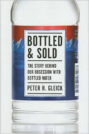 Cover of: Bottled and sold
