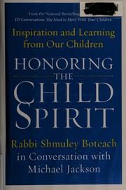 Cover of: Honoring the child spirit