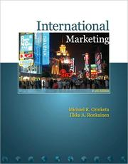 Cover of: International marketing