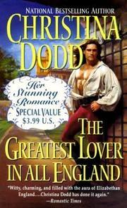 Cover of: The Greatest Lover In All England