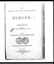 Cover of: The earth and its inhabitants, Europe