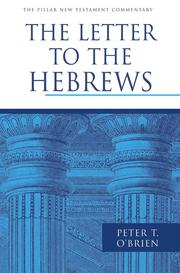 Cover of: The letter to the Hebrews