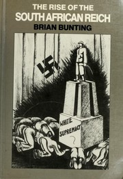 Cover of: The rise of the South African Reich